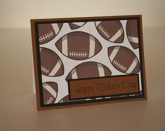 Father's Day Card- Footballs