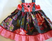 Girls Dress - The London Knot Dress  Sizes 12MO-8
