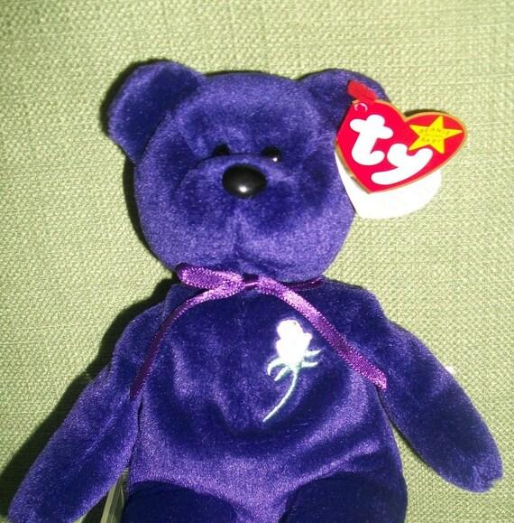 1997 PRINCESS DIANA Ty Beanie Baby With Tags Original 1st