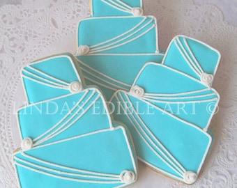 Blue Wedding Cake (1 Dozen)