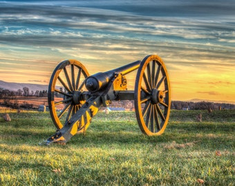Maryland Art, Cannon, Fine Art Photography, Maryland Photography, Civil War