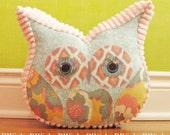 Owl Pillow Stuffed Owl - Owl Decor Pillow