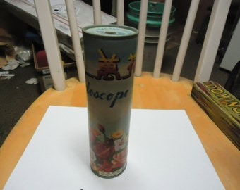 Vintage Hand Held Kaleidoscope, made in china PP 046 has chinese writing on it, collectable, toy