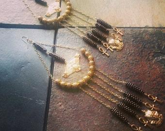 Pharaohs Earrings