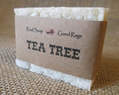 Tea Tree Soap Handcrafted Cold Process Style All Natural