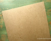 """100 8x10""""chipboard sheets: (203 x 254 mm) kraft brown chipboard for photos/prints and large envelopes, recycled, eco-friendly, 22 pt (.022"""")"""