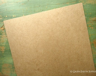 "100 8x10""chipboard sheets: (203 x 254 mm) chipboard for photos/prints, recycled, 22 pt (.022"") kraft brown, white, 30pt. (.033"") kraft brown"