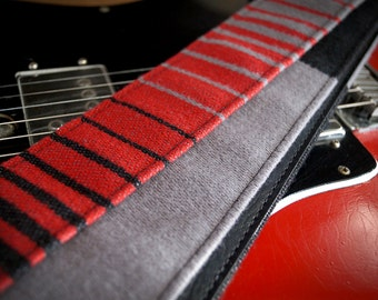 1985 Volkswagen Golf Guitar Strap - Made from Vintage upholstery