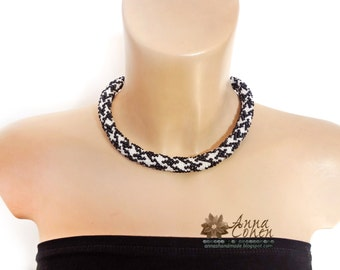 Houndstooth necklace FREE SHIPPING