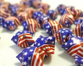 50 Flag Theme  - United States of America - Origami Lucky Stars