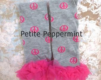 Baby Leg Warmers, Baby Leggings - Gray Ruffle Leg Warmers
