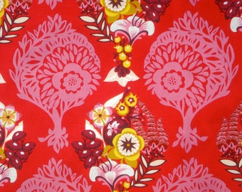 Anna Maria Horner Innocent Crush Loves Me, Loves Me Not petal red Free Spirit fabric FQ or more