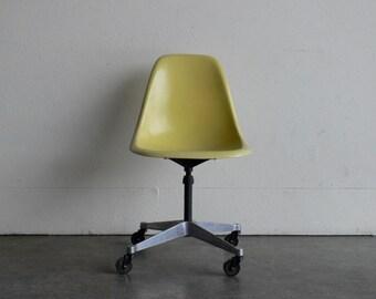 Eames for Herman Miller Aluminum Swivel Base Side Chair-PSCC
