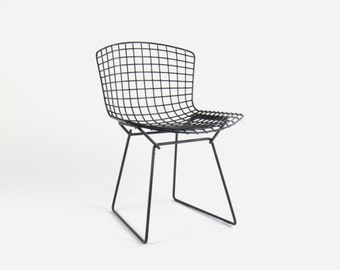 Vintage Knoll Bertoia Wire Side Chair