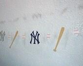 New York Yankees Paper Garland
