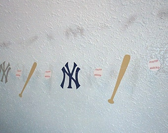 New York Yankees Paper Garland