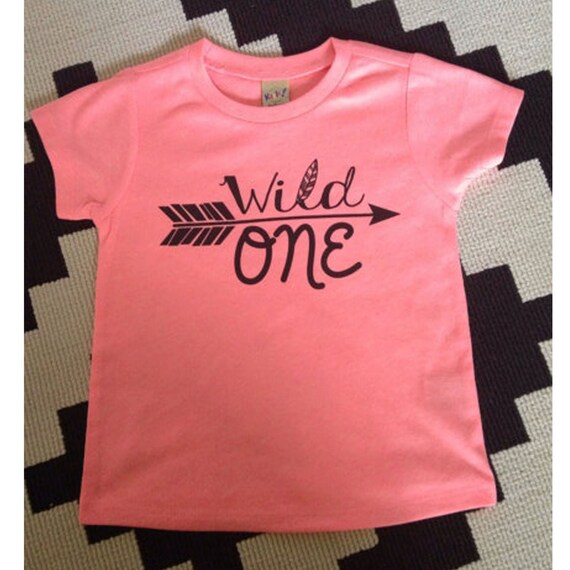 Wild One First Birthday Shirt Jersey Shirt First By
