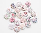 Buttons- Victorian Wallpaper (set of 20)
