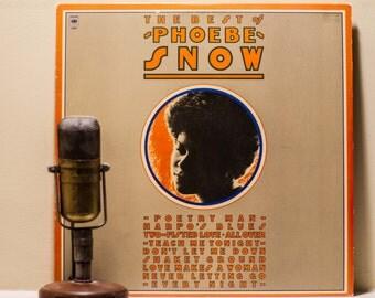 "Phoebe Snow Vinyl Record Album 1970s Folk Blues Jazz Hybrid Vocals Easy Listening LP, ""The Best Of""(1981 Columbia w/""Poetry Man""))"