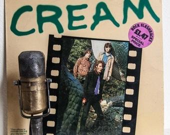 "ON SALE CREAM Vinyl Lp Record Album Vintage 1960s Classic Rock Eric Clapton Jack Bruce ""Cream"" (Scarce Uk Import 1966 Polydor Records Specia"