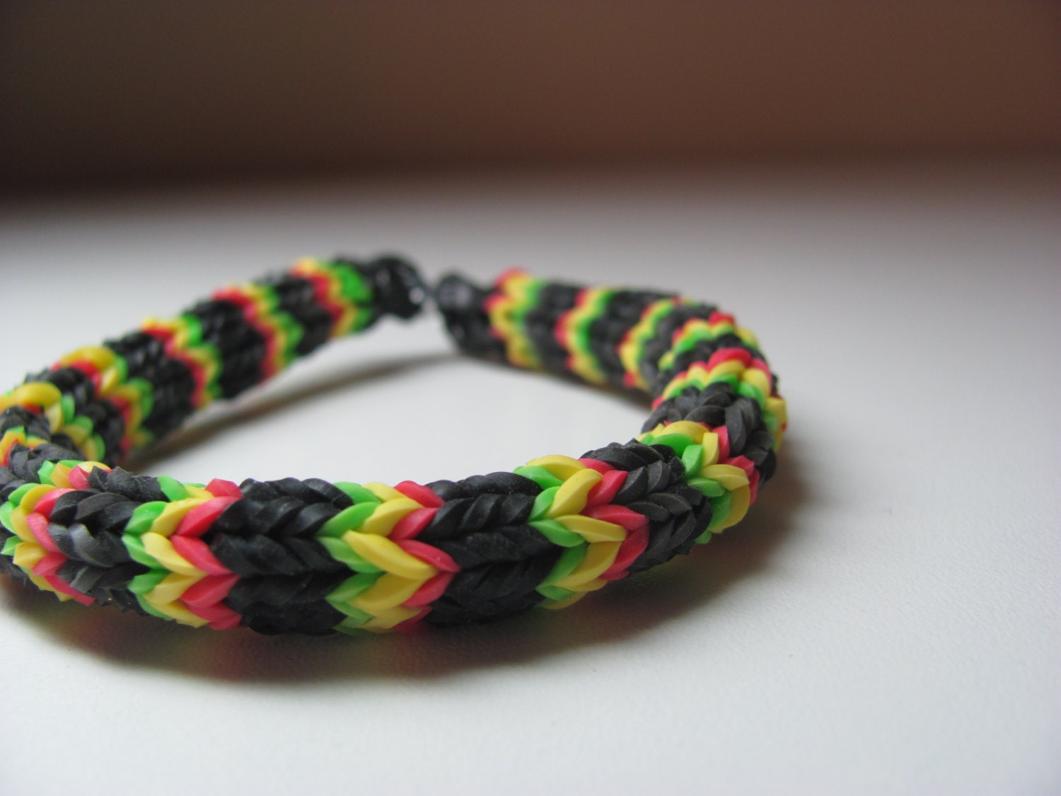 rubber band bracelet with loom rainbow loom rubber band stretch bracelet by sellingitforyou 4812
