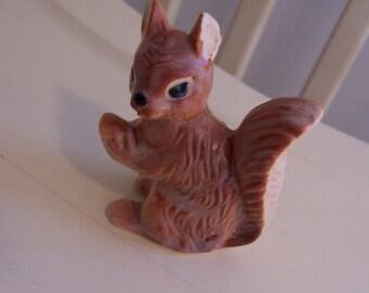 adorable little squirrel figurine