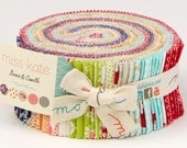 """Moda Bonnie & Camille Miss Kate Quilt Fabric Jelly Roll 2.5"""" Strips"""