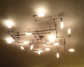 The Maze Pipe Light Chandelier 1.0