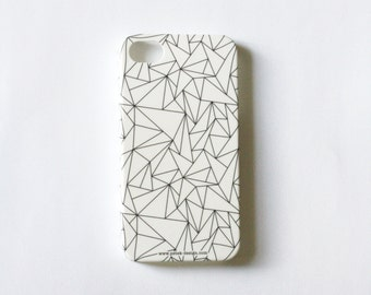 SALE: Geometric Case / iPhone 4 Case / iPhone 5 Case / Black and White Case / Samsung Galaxy S2 / Samsung Galaxy S3 / Minimalist Accessory