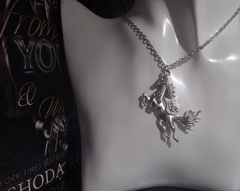 Torn From You and With You Necklace Inspired by the Tear Asunder Series by Nashoda Rose