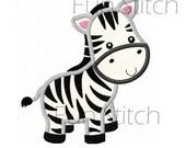 zebra applique machine embroidery design