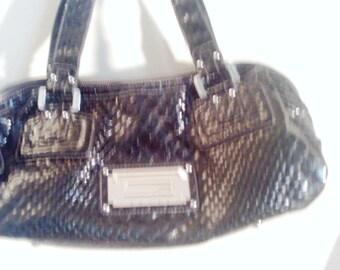 Black purse  snake print