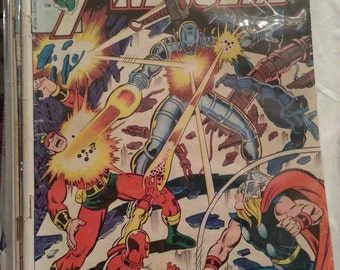 Marvel Comics The Avengers 162 Silver Age Comic Book