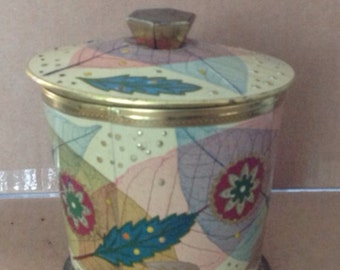 Vintage Baret Ware England Tin Container