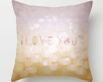 innocently / pink - pillow cover