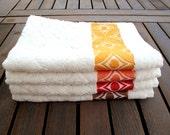 4 Hand Towels Bamboo Kitchen Towels Organic Eco-Friendly Hand Kitchen Towels Christmas Gift Sets for Her for Him