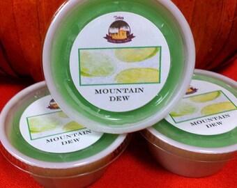 Mountain Dew Melting Tart