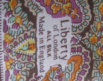 Vintage Liberty of London Silk Scarf