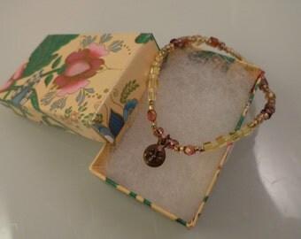 Bracelet With Smiling Sun