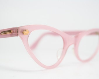 Pink cat eye eyeglasses  vintage cat eye glasses frames Cateye frames