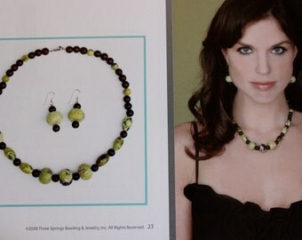 Statement necklace Kit Genuine Stones & Sterling Silver Findings QVC