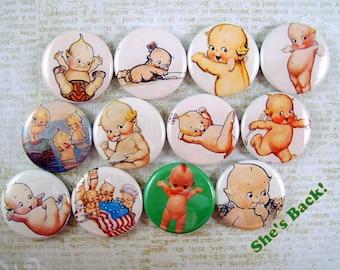 Kewpie Magnets Pins Party Shower Favors Nursery