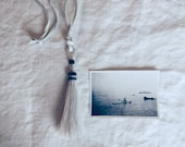 the fortuna tassel necklace