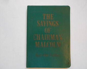 The Sayings of Chairman Malcolm, The Capitalist's Handbook, a Vintage Book