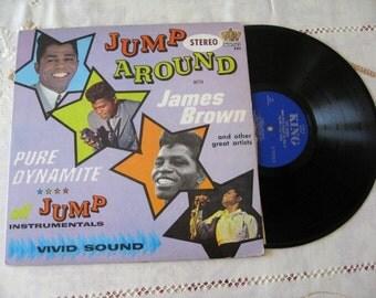 James Brown 1963 Jump Around  Lp Vinyl Record  King Stereo Clean