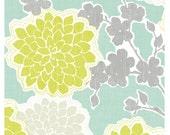 Graphic Illustration Print Loving Blossoms