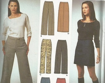 Simplicity 9405   6 Made Easy Skirt and Pants Pattern SZ 6-12