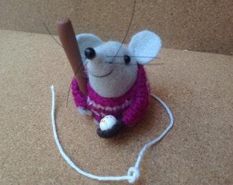 "Bradley 2"" felt mouse"
