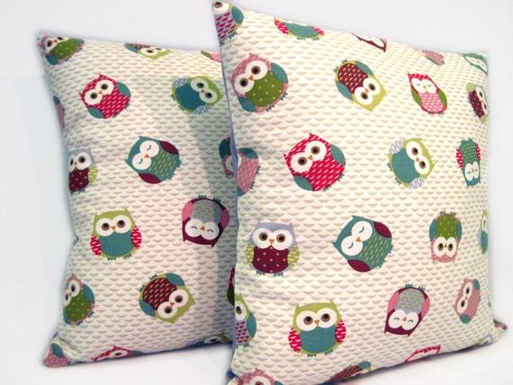 How To Make Cute Owl Pillows : Cute owls pillow cushion UK shop