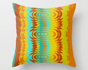 Crash Pad Designs Modern  Pillow, Retro Pillow, Mod Pillow, Funky Pillow, Modern Throw Pillow, Mod Cushion,Funky Cushion,Groovy Pillow